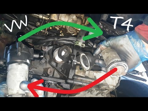 Auxiliary Water Pump Replacement on Volkswagen T4 2.4 d - YouTubeYouTube