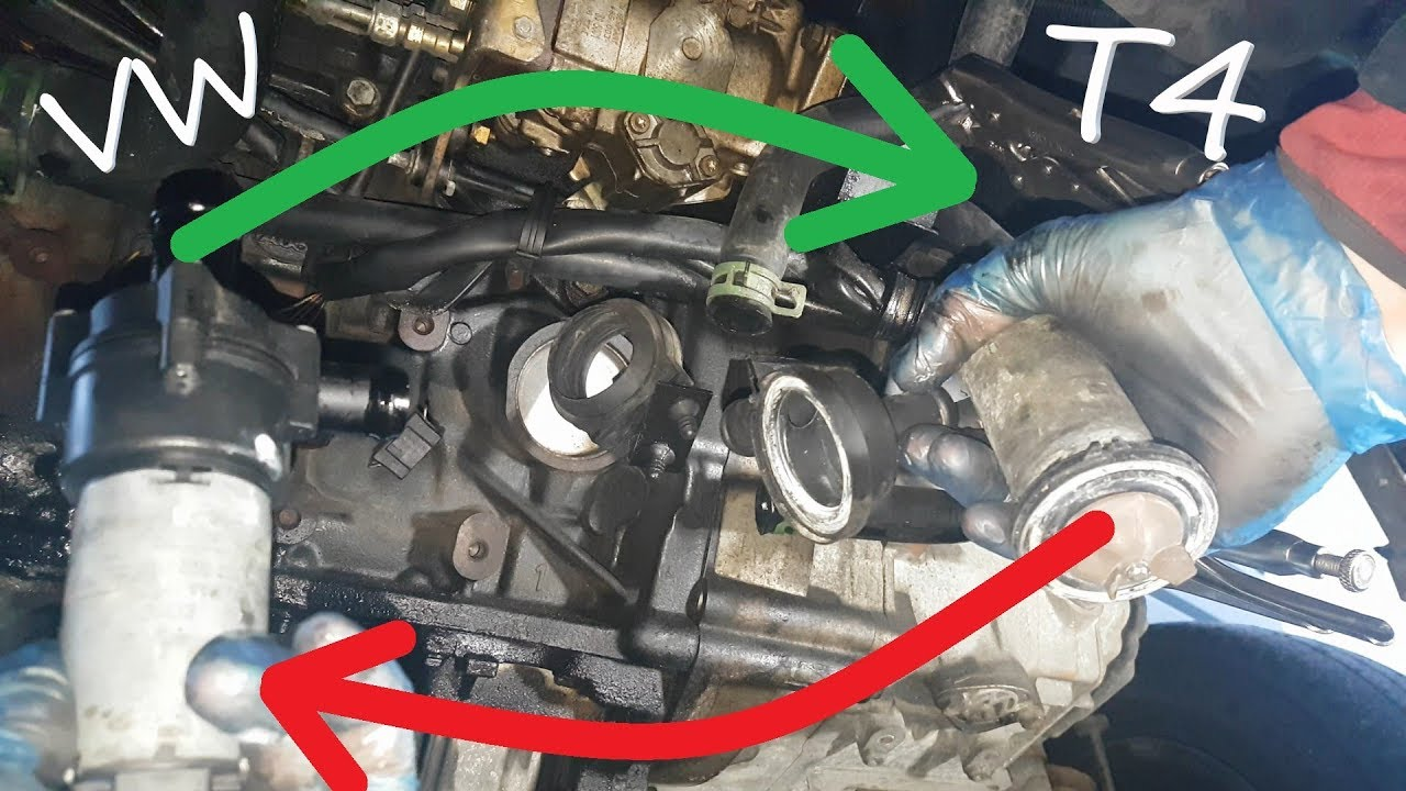 auxiliary water pump replacement on volkswagen t4 2 4 d youtube vw auxiliary water pump wiring diagram [ 1280 x 720 Pixel ]