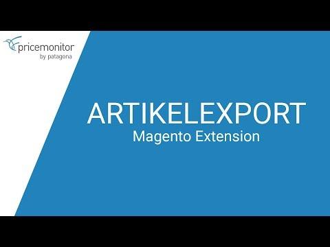 Wie exportiere ich Artikel in der Magento Extension? // PRICEMONITOR-Tutorials