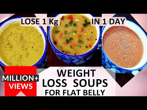 Weight Loss Soup (In Hindi) | Soup For Weight Loss | Lose 1Kg in 1 day | How To Lose Weight Fast