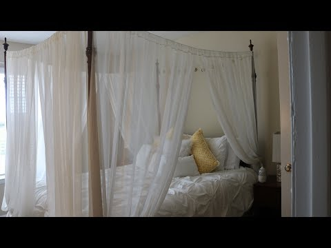 DIY: How to make a canopy bed under $40