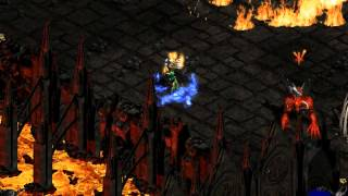 Diablo II: Hell Unleashed (Co-op Hell Playthrough) - Solo Diablo (Players 8)
