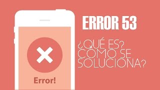 How to fix Error 53 (iTunes)