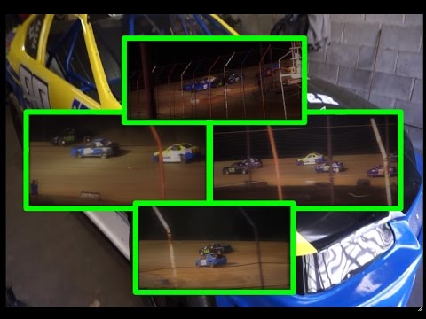 Dog Hollow Speedway 4 cylinders 4-21-17