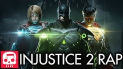"""INJUSTICE 2 RAP by JT Music & Rockit Gaming - """"Injustice"""""""