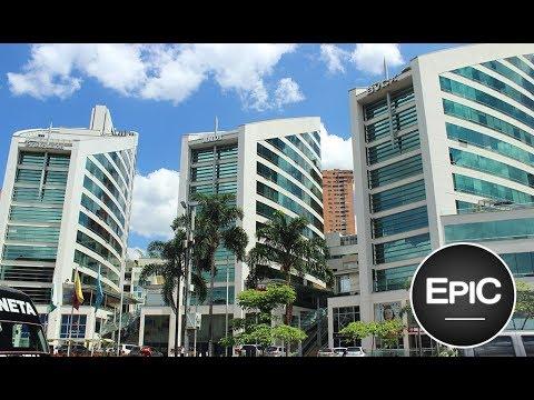 El Poblado - Medellín, Colombia (HD)