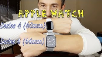 Apple Watch Series 4 (40mm & 44mm) Unboxing and Comparison