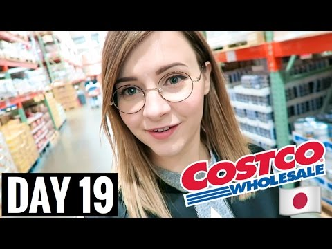 JAPANESE COSTCO STORE TOUR!! | vlogmas day 19