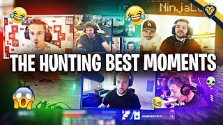 THE HUNTING SERIES BEST MOMENTS FT. COURAGE, NADESHOT, NINJA, and MORE! (Minecraft)