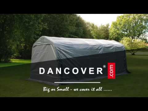 Storage tents PVC 2m series from Dancover & Storage tents PVC 2m series from Dancover - YouTube