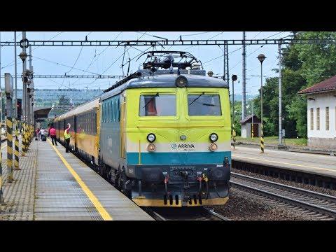 Vlaky Zábřeh na Moravě, 11.07.2017