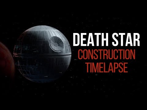 Death Star Construction Timelapse