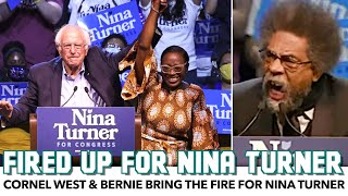 Cornel West & Bernie Bring The Fire For Nina Turner