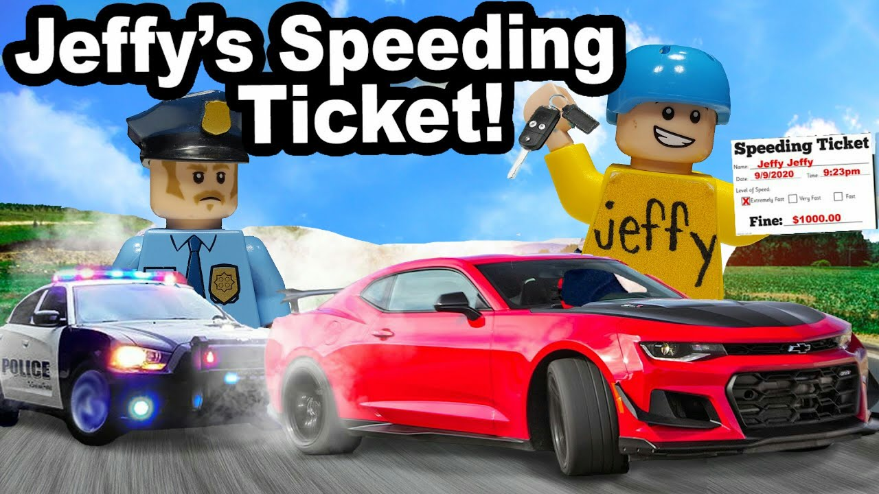 Lego SML: Jeffy's Speeding Ticket!