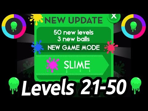 Color Switch Slime Levels 20-50