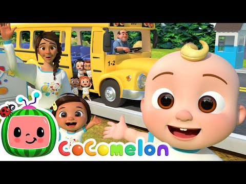 CoComelon All Kids Songs - Wheels On The Bus, ABC 123 + More Nursery Rhymes & Kids Songs