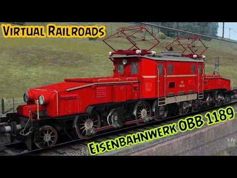 Virtual Railroads OeBB 1189 Crocodile TS2015 |