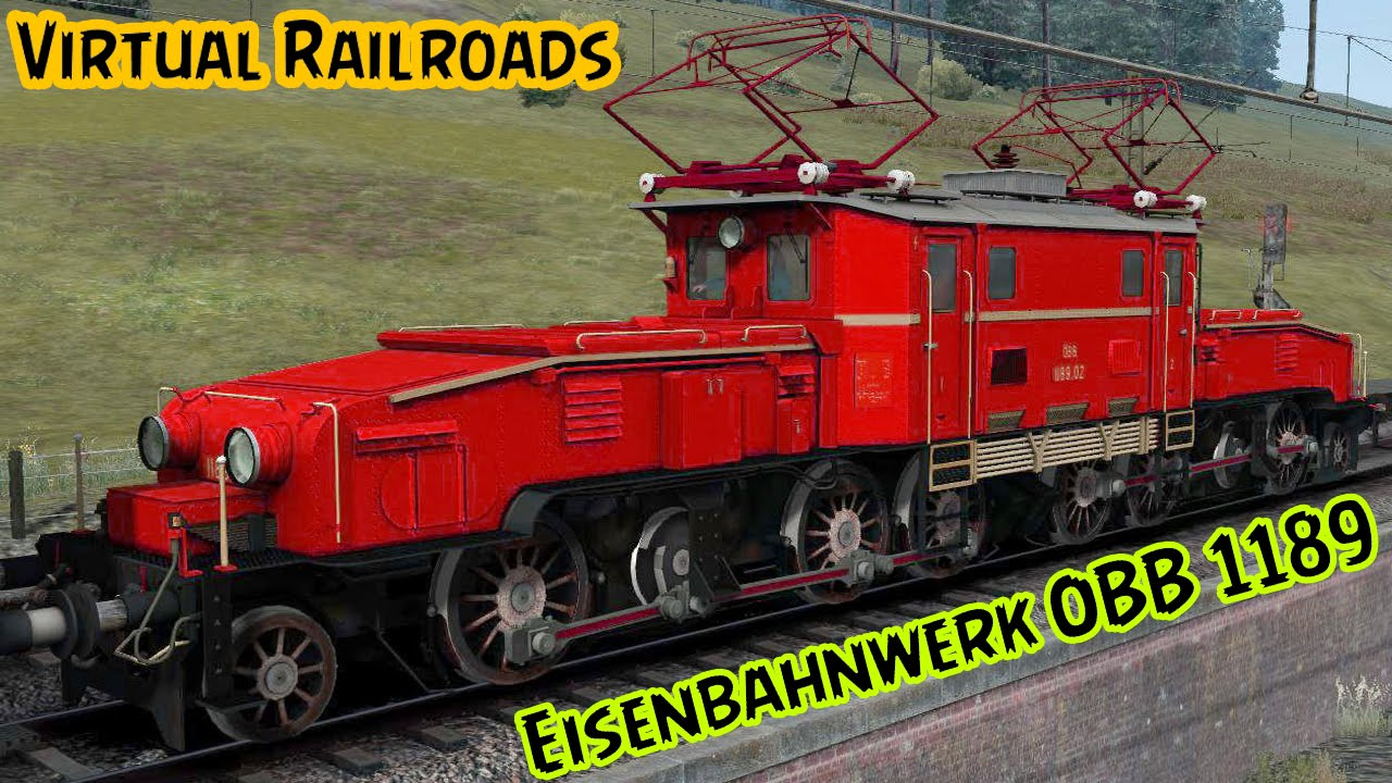 Virtual Railroads Oebb 1189 Crocodile Ts2015 Youtube