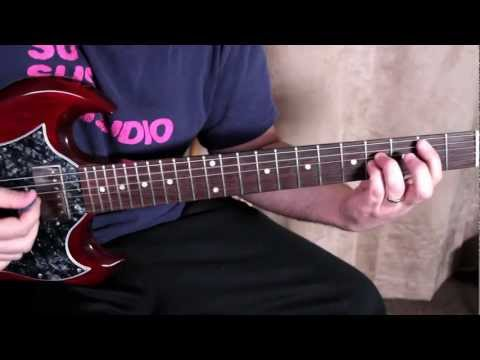The Darkness - I Believe In A Thing Called Love - How to Play on Electric Guitar - Guitar Lessons
