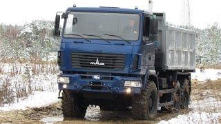 МАЗ-6502Н9. Ответ европейским внедорожным самосвалам