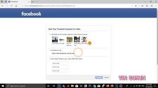 How to Recover Your Facebook Account With Facebook Trusted Friends 2019