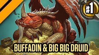 Hearthstone: Buffadin & Big Big Taunt Druid