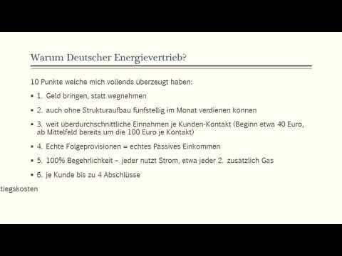 Deutscher Energievertrieb - 10 Punkte ✅ welche mich überzeugt haben💹🕵♀