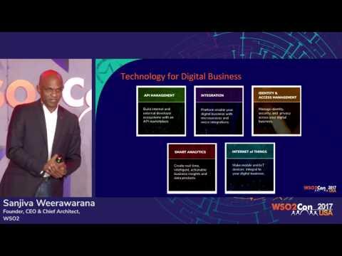 Vision for Agile Digital Transformation, WSO2Con USA 2017