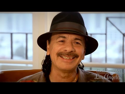 Carlos Santana is interviewed by Giselle Fernandez: Part 2 -