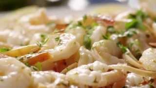 Shrimp Recipes - How To Make A Shrimp Scampi Bake