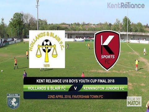 Kent Reliance U18 Boys Youth Cup Final 2018