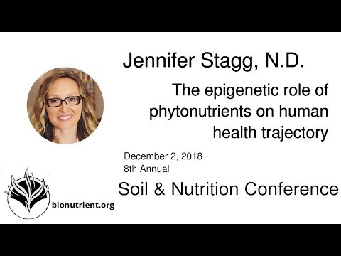 Jennifer Stagg: The Epigenetic Role of Phytonutrients on Human Health Trajectory | SNC 2018