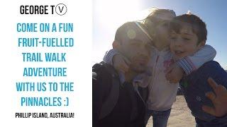 Adventure VLOG -  kids & I Hike the Pinnacles Barefoot! - Cape Woolamai - Phillip Island