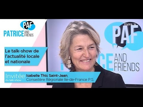 PAF – Patrice and Friends – avec Isabelle This Saint-Jean – Emission du 9 décembre 2016