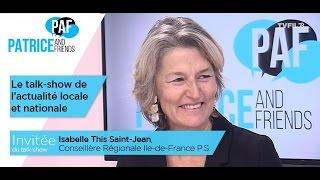 PAF – Patrice and Friends – avec Isabelle This Saint-Jean – Emission du 9 décembre 2016