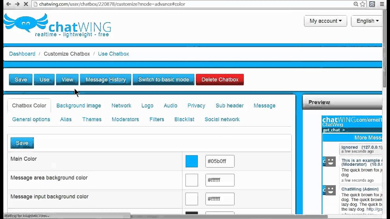 AIM LIVE CHAT ROOMS - CHATWING - YouTube