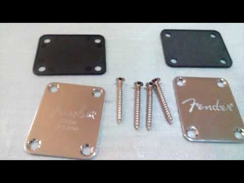Build a Custom Strat Guitar from parts - Neck Plate - Part-o-caster Part 5 from YouTube · Duration:  16 minutes 8 seconds