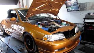 1998 Volvo C70 T5 with GT3076R Turbo Dyno At Tobz
