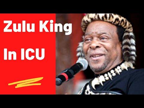Zulu King Zwelithini In ICU In A Zululand Hospital   Thenjiwe TV