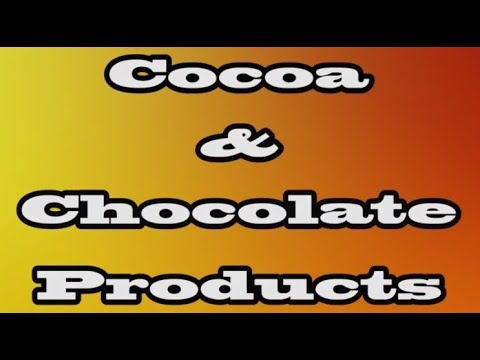 Trade & Investment Convention (TIC) 2017 in Trinidad - Cocoa & Chocolate Products
