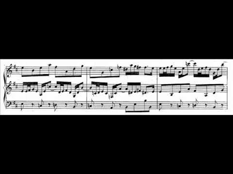 J.S. Bach - BWV 528 (2) - Sonata IV - Andante h-moll / B minor