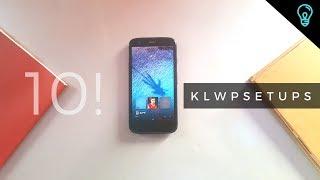 Best Nova Launcher Setup 2018 : KLWP themes Edition episode 2