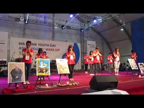 Đại Hội Giới trẻ Á Châu 2014: MÚA LÀM DẤU VIỆT NAM