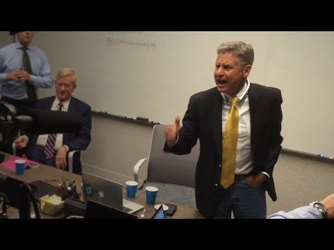 Gary Johnson Gets ANGRY Over Foreign Policy And Exclusion From Debates (You Will Too)!