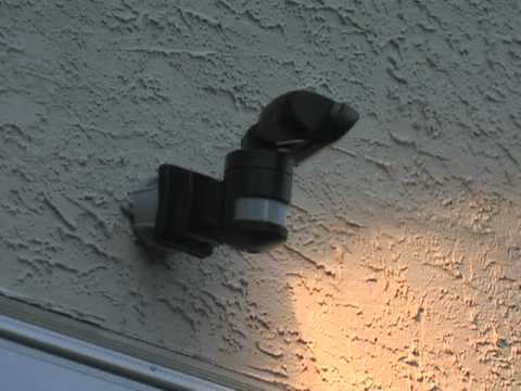 Nightwatcher motion tracking security light youtube mozeypictures Gallery