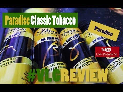 Paradise Classic Tobacco Ld Ed Vapelikegeek Greek LIVE Review