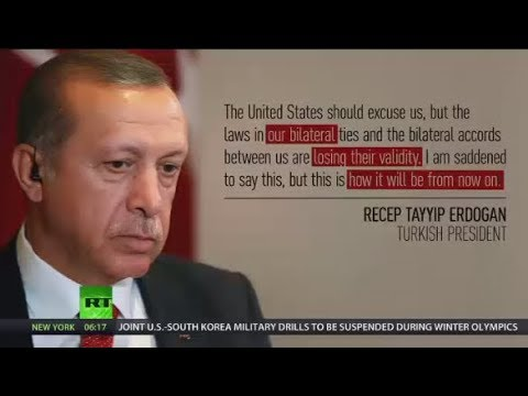 Erdogan: Turkey's accords & ties with Washington losing validity