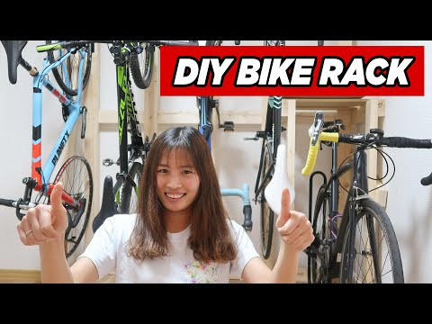 DIY Bike Rack | Custom Bike Stand (Self Supported & No Wall Drilling) from YouTube · Duration:  17 minutes 16 seconds