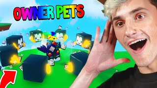 The OWNER gave me INFINITY TOFUU PETS 🤯(Roblox)