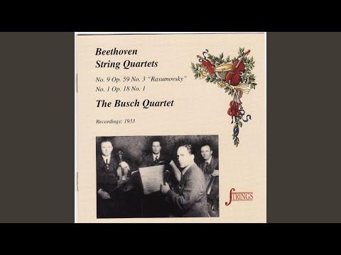 String Quartet No. 1 In F, Op. 18, No. 1: I. Allegro Con Brio